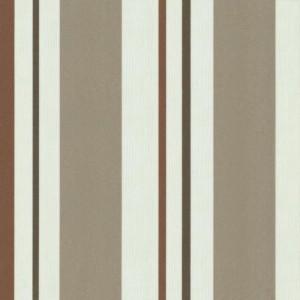 papel de parede nordico - listras marrom