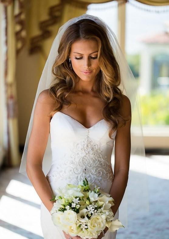 Coleção J'adore Nova Noiva - Véu Cotovelo para casamento