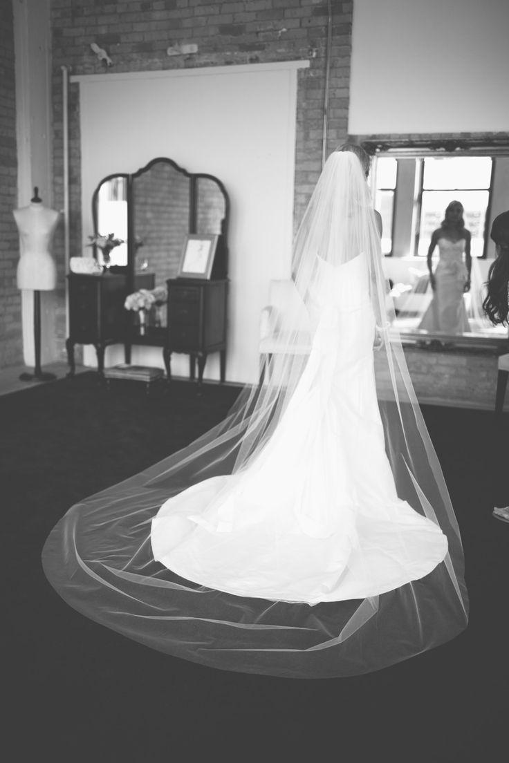 Véu para casamento - Catedral ou Longo