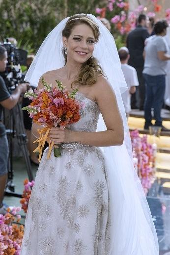 vestido Cristina Novela Império
