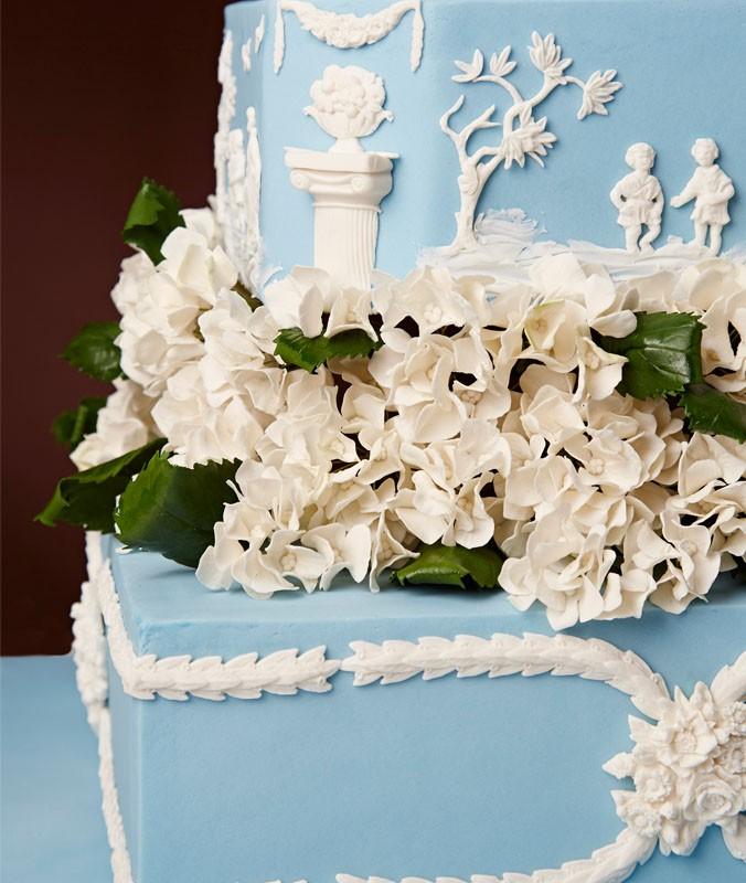 bolo azul the king cake