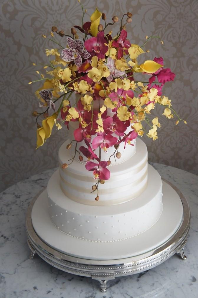 bolo de casamento Nelson - flores de açúcar - The King Cake (3)