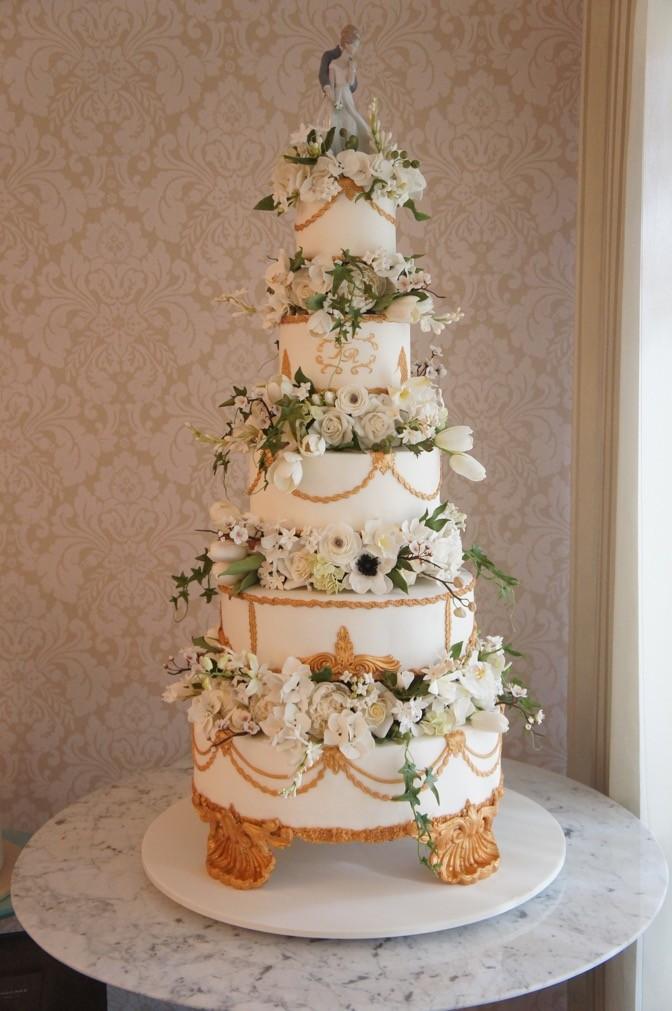 bolo de casamento - altos - Nelson - The King Cake (1)