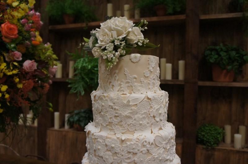 bolo de casamento com rendas - Nelson - The King Cake (2)