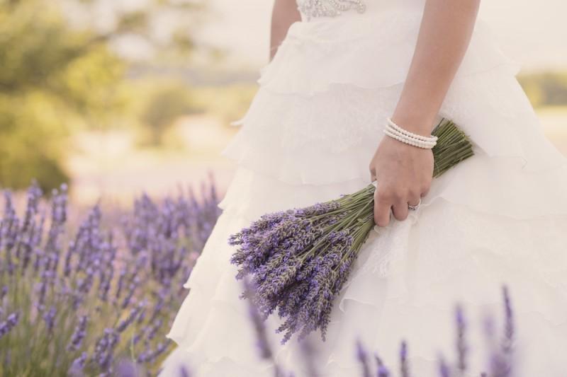 bouquet de lavanda casamento na Itália
