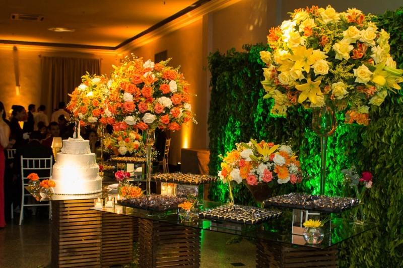 Conhecido Decoração de casamento | Tons vibrantes PS85