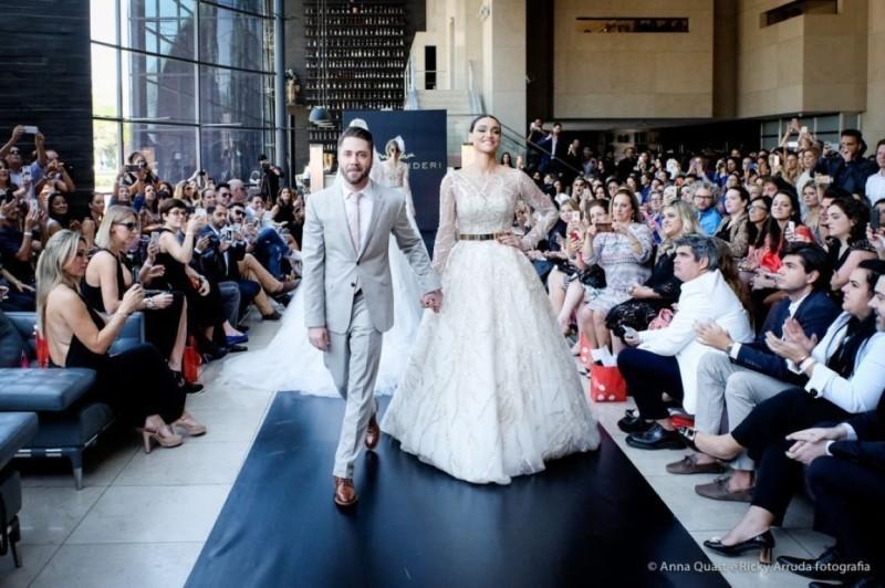 Desfile Lucas Anderi no Casa Moda Noivas 2015