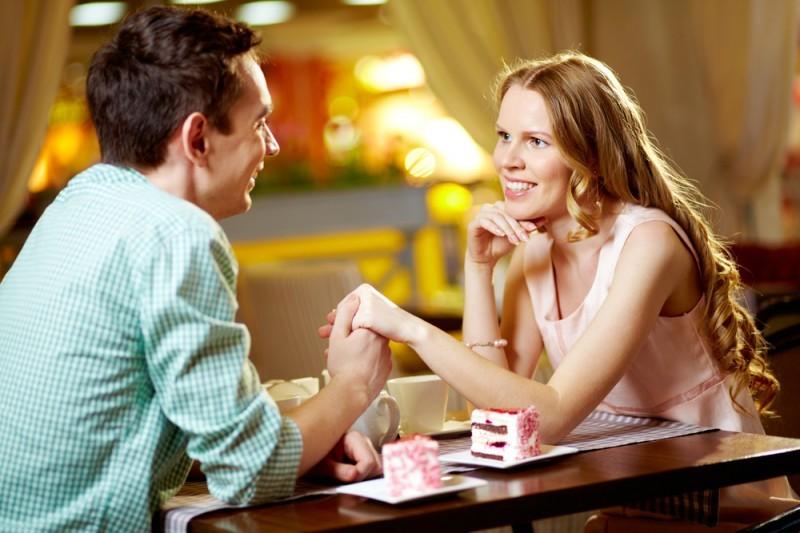 encontro de casal início do casamento