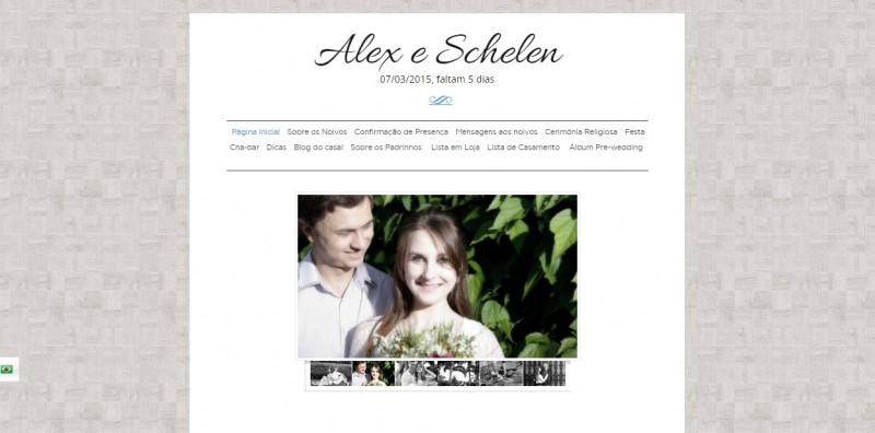 modelo site de casamento iCasei