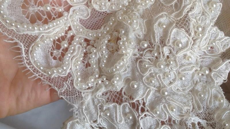 Detalhes Vestido de renda Dani Messih - Treino e alimentação pré-casamento