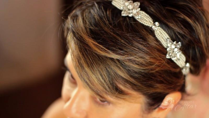 tiara para noiva Miguel Alcade