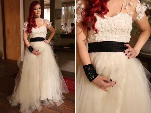 vestido de casamento Du- novela império