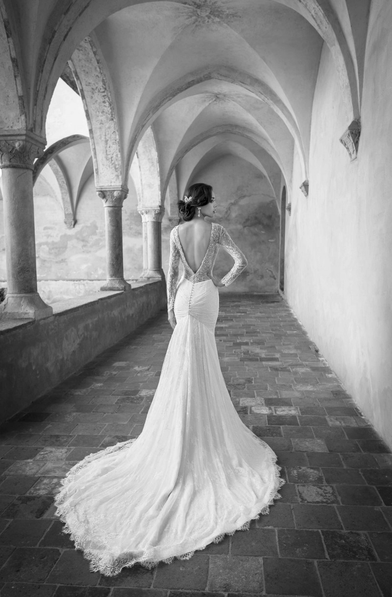 vestido de noiva Itália