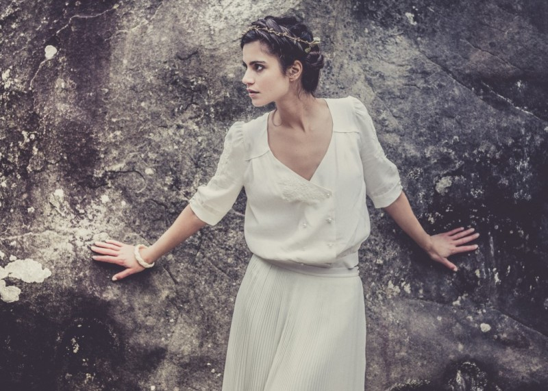 vestido de noiva - Laure de Sagazan - Espanha