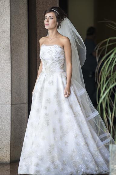 vestido de noiva Maria Clara - Novela Império