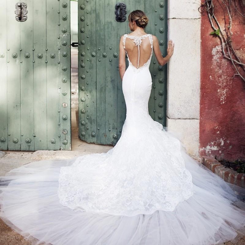 vestido de noiva - Pronovias 1 - Espanha