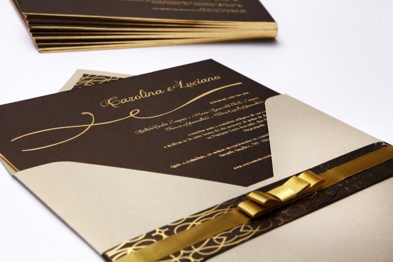 Convite de Casamento | 01 - Carolina-Premium-PAPEL-E-ESTILO