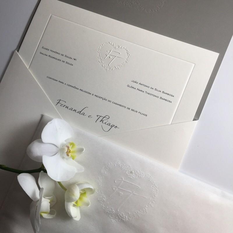 03 - Convite Casamento Fernanda Souza e Thiaguinho - casamento
