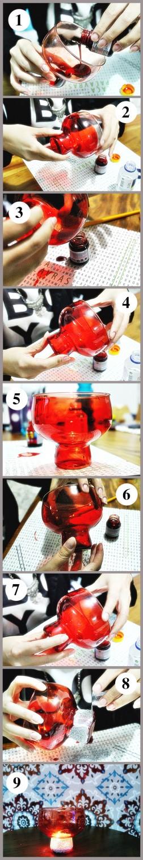 DIY para casamento - luminárias