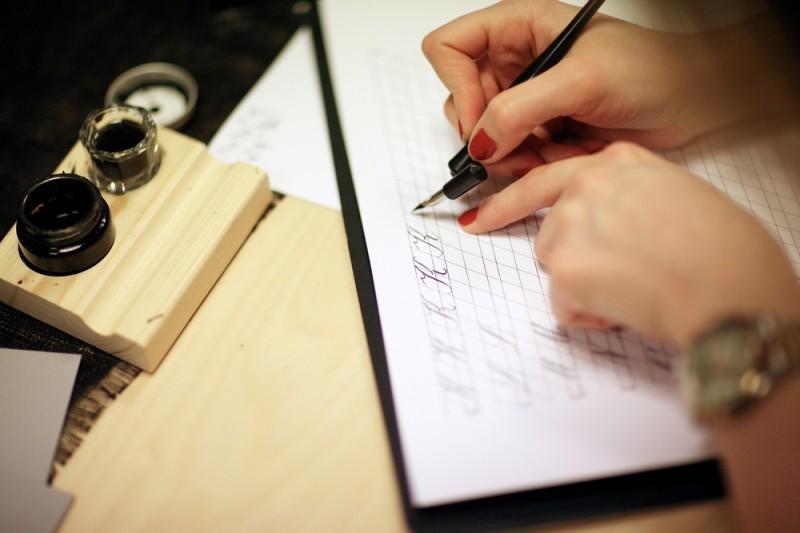 calígrafo convite para casamento