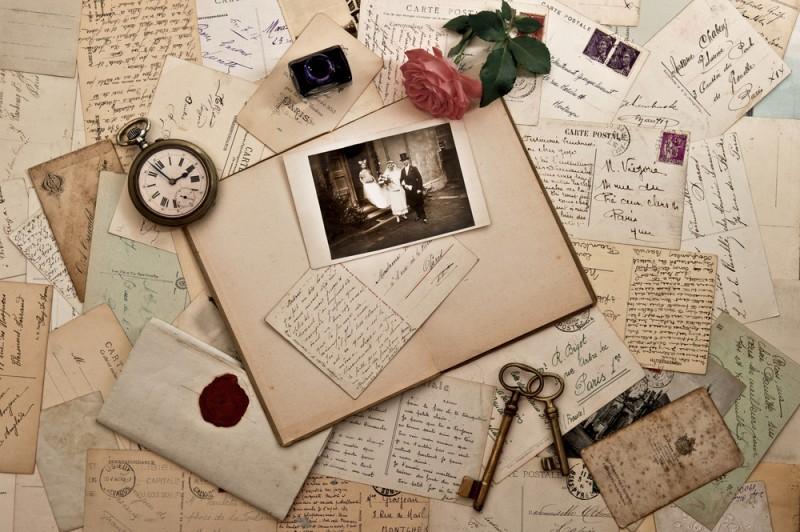 convite para casamento antigo
