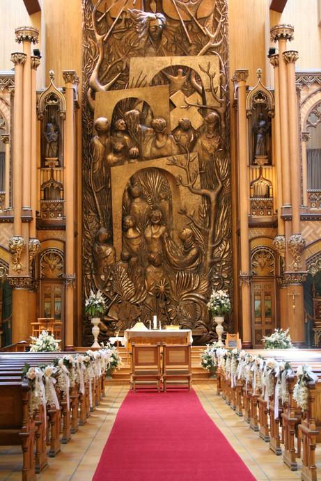 10 Inspirações de decoraç u00e3o de igreja para casamento