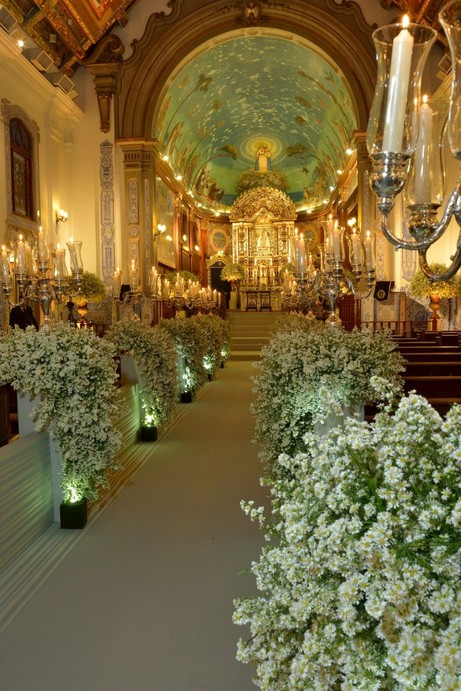 Enfeite De Igreja ~ 10 Inspirações de decoraç u00e3o de igreja para casamento