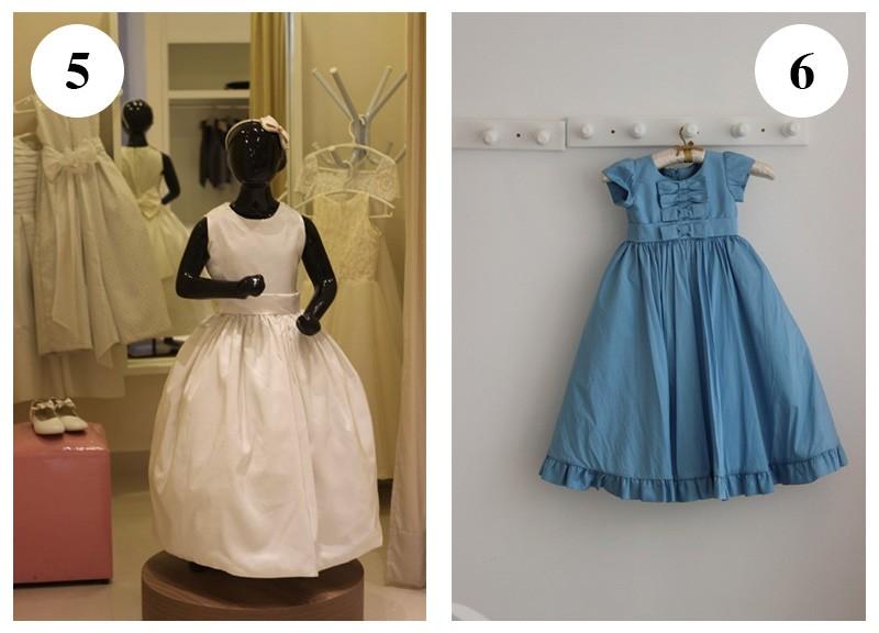 Vestido com saia rodada e cintura marcada by Black Tie-Vestido azul com detalhes na barra by Marie Lafayette