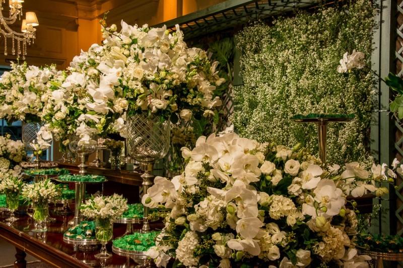 Decoraç u00e3o para casamento Branco -> Decoração De Casamento Na Igreja Rosa E Branco