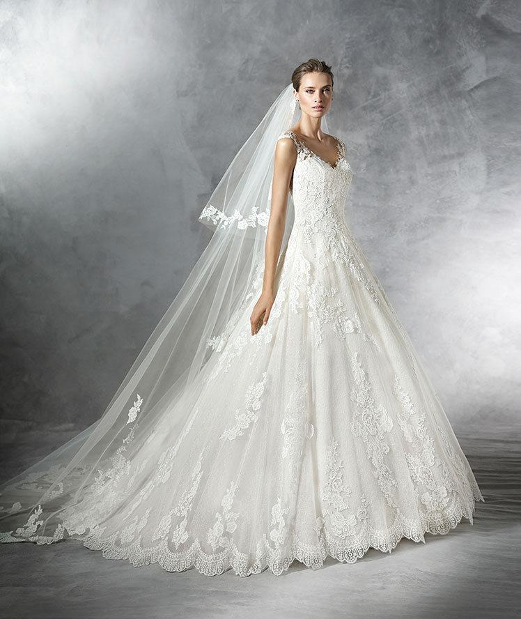 vestido de noiva coleção Pronovias