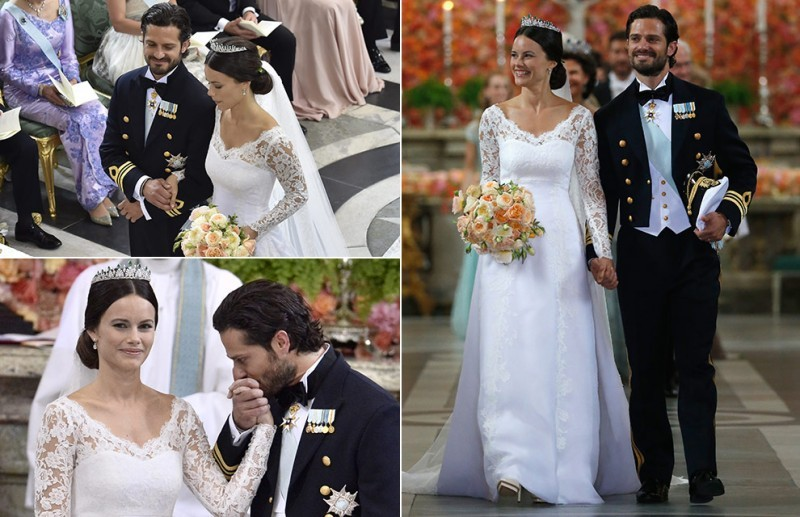 Casamento Sofia Hellqvist e Príncipe Carl Philip - revista icasei (10)