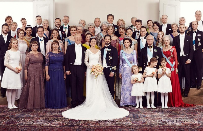 Casamento Sofia Hellqvist e Príncipe Carl Philip - revista icasei (11)