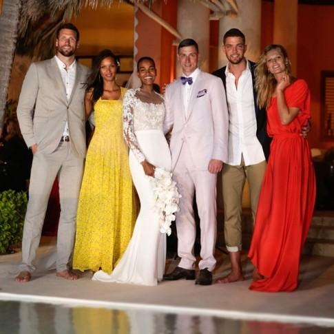 casamento-celebridade-arlenis-sosa-e-donnie-mcgrath-padrinhos