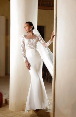 casamento-celebridade-arlenis-sosa-e-donnie-mcgrath-vestido-da-noiva