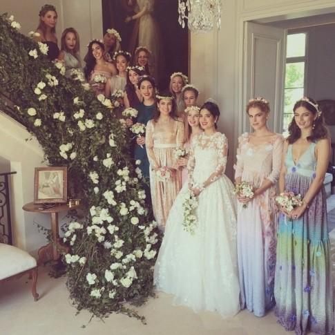 casamento-celebridades-noor-fares-e-alexandre-al-khawam-com-madrinhas
