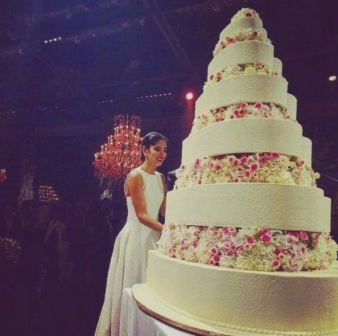 celebridades-noor-fares-e-alexandre-al-khawam-decoracao-bolo