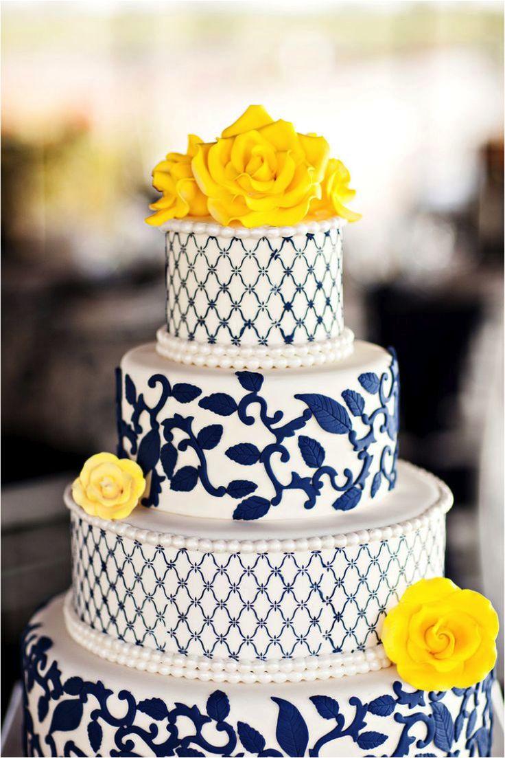 decoração de casamento - azul e amarelo - revista icasei (1)