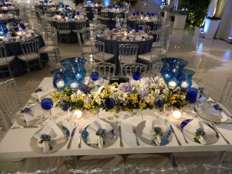 decoração de casamento - azul e amarelo - revista icasei (11)
