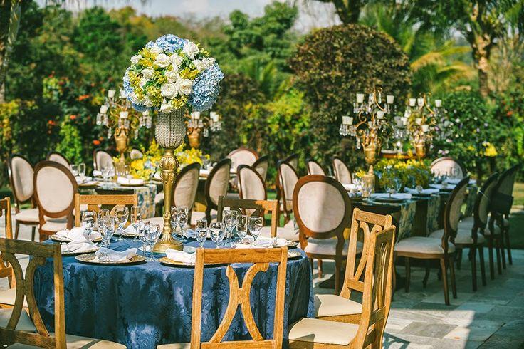 decoracao azul e amarelo noivado:decoração de casamento – azul e amarelo – revista icasei (17)