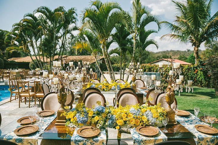 decoração de casamento - azul e amarelo - revista icasei (18)