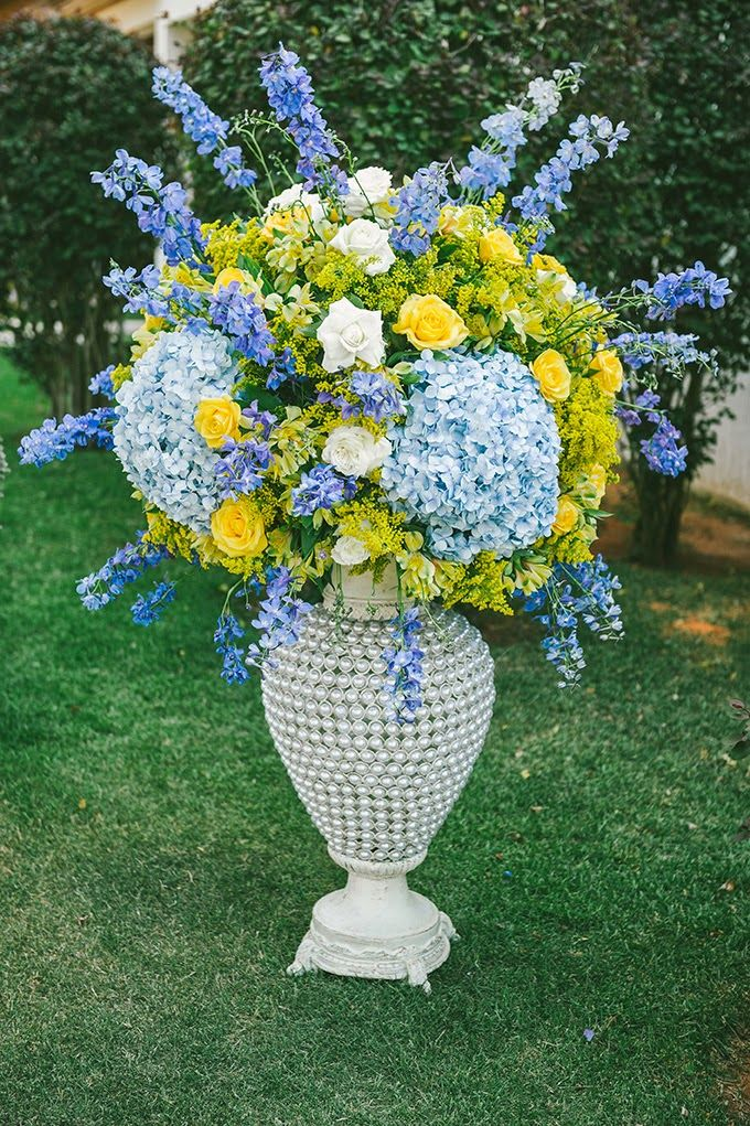 imagens de decoracao de casamento azul e amarelo : imagens de decoracao de casamento azul e amarelo:decoração de casamento – azul e amarelo – revista icasei (19)