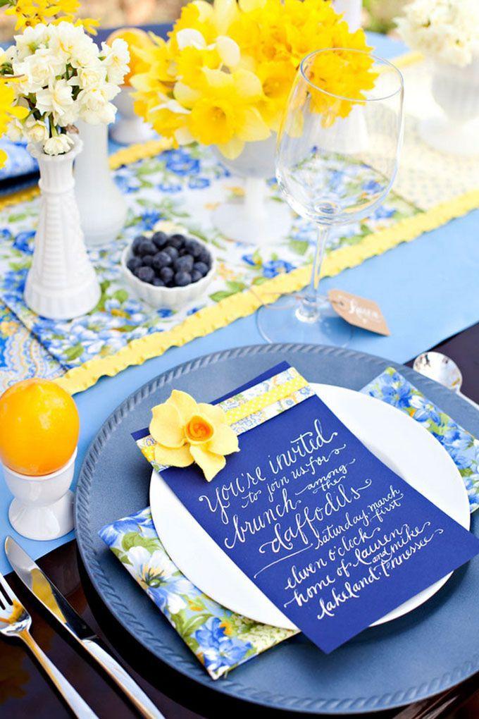 decoração de casamento - azul e amarelo - revista icasei (6)