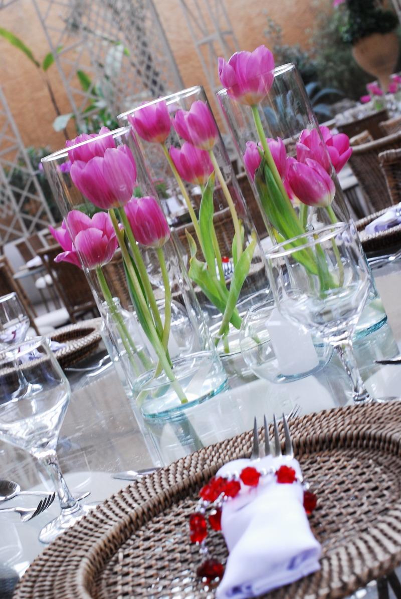 decoração de casamento com tulipas (15)