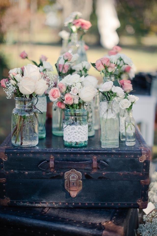 decoração de casamento vintage - revista icasei