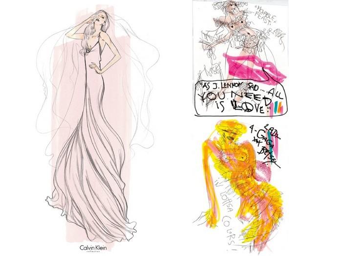 vestido-de-noiva-lady-gaga-calvin-klein-e-betsey-johnson