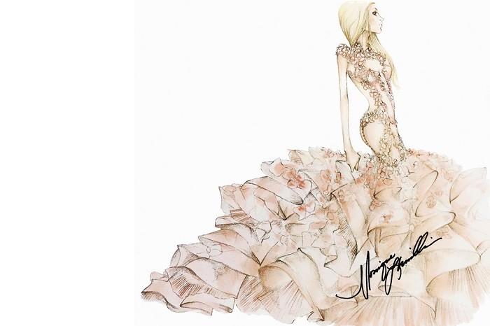 vestido-de-noiva-lady-gaga-monique-lhuillier