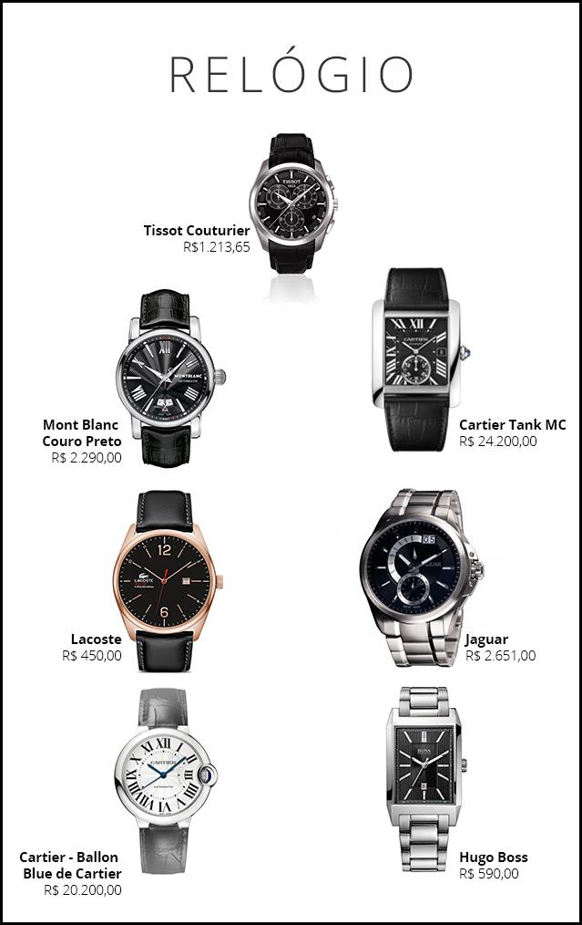 b06fdce17a8 presente para o noivo - revista icasei - relógio