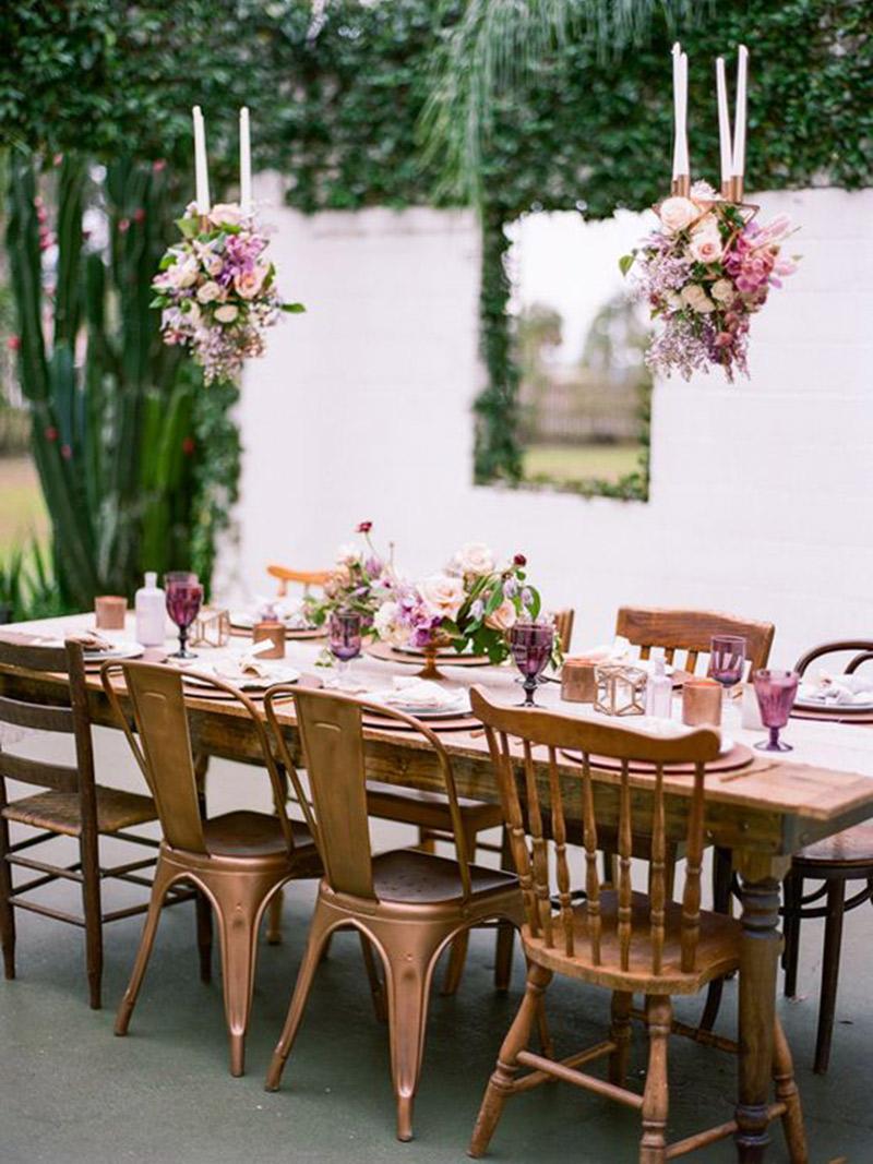 10 Ideias de Decoração para a Festa de Noivado romântica