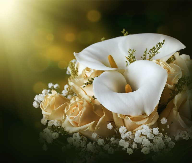 Decoração com Flores Copo de Leite - revista icasei (11)