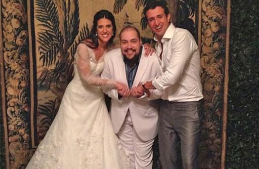 Famosos em festa de casamento - thiago abravanel 2- revista icasei
